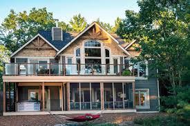 lakeside cottage house plans exquisite design lake cottage house plans loon linwood custom