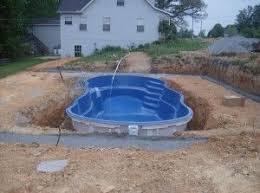 prefabricated pools best 25 fiberglass swimming pools ideas on small