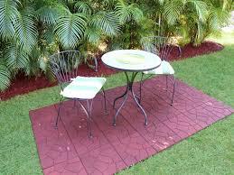 patio 47 driveway rubber outdoor flooring outdoor patio
