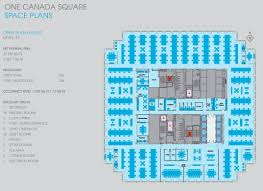 one canada square floor plans canary wharf london research