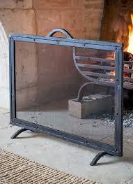 firescreen large wrought iron garden trading