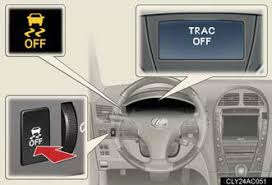 lexus vsc trac driving assist systems other driving systems when