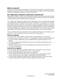 How To Do Resume For A Job by 100 How To Make A Resume For Summer Job Resume Achievements
