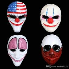 cheap masks horror mask payday mask newest topic series plastic