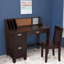 Writing Desk Accessories by Guidecraft Media Desk U0026 Chair Set Teal Hayneedle