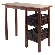 amazon com winsome wood egan 3 piece breakfast table with 2