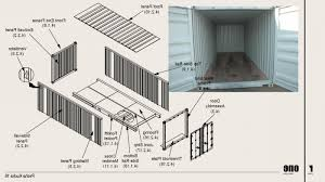 shipping container construction details container house design for