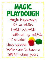 printable playdough recipes magic playdoh first day fun free printables mrs gilchrist s class