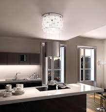 kitchen island extractor hoods island range original design with built in lighting