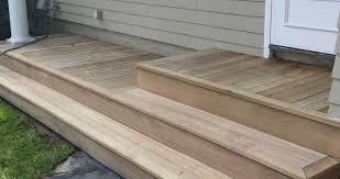 deck steps u2013 ncs construction