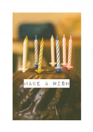 make a wish happy birthday cards send real postcards online