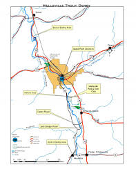 Std Map Greater Wellsville Trout Derby Derby Map