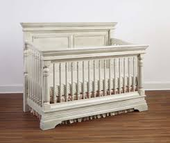 White Convertible Baby Crib Stella Baby Child Kerrigan Convertible Crib Rustic White New