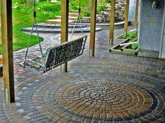 Patio Pavers Ta Unilock Patio With Eco Priora Permeable Paver Paver Ideas