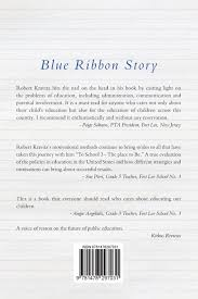 blue ribbon story an entrepreneur u0027s success in education robert