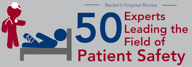 leading 50 experts leading the field of patient safety 2016