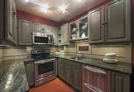 kitchen design ideas u shaped kitchen layout gray flat cabinet
