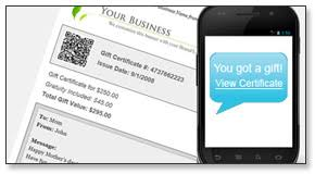 printable gift cards sell and manage instant printable gift certificates online