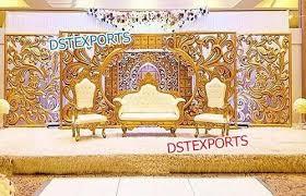 wedding backdrop panels fiber backdrop panels wedding stage exporter from patiala