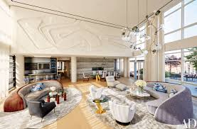 manhattan penthouse modern decor inspiration architectural digest