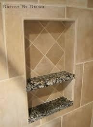 bathroom alcove ideas bathroom how to build recessed shower shelf for your bathrooms