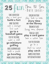 25 mom and son date ideas printable frugal fanatic