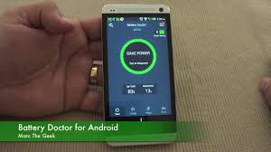 battery doctor pro apk battery doctor for android