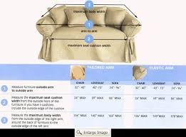 how to measure sofa for slipcover how to measure for sofa slipcovers home the honoroak