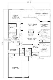 french cottage floor plans traditional style house plan 3 beds 2 baths 1806 sq ft plan 17