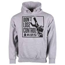 tatami don u0027t lose control hoodie grey u2013 fightshop