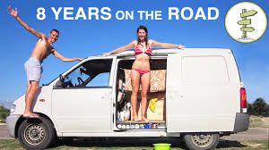 why you should live in an rv couple spends 8 years living the van life u0026 backpacking around the