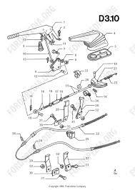 ford transit mkiii 1985 1991 parts list d3 10 parking brake