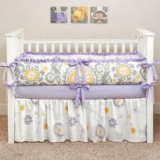 bedding purple and grey crib bedding butterfly crib bedding