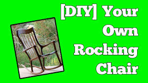 A Rocking Chair How To Build A Rocking Chair Perfect Chairs Made Easy Youtube