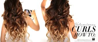 pretty hair styles with wand how to amazingly voluminous curls in 10 minutes hairstyles