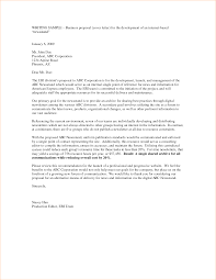 business proposal sample letter business proposal templated