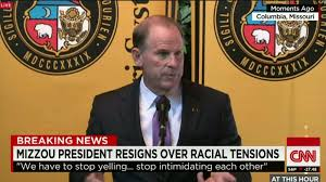 university of missouri president and chancellor resign cnn