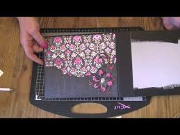Chipboard Albums How I Cover The Pages In My Chipboard Albums Youtube