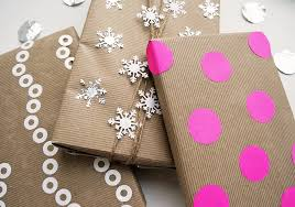 kraft christmas wrapping paper kraft paper gift wrap ideas popsugar smart living