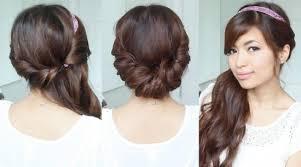 Haar Frisuren Kurz by Haarband Frisur Lange Haare Mit Frisuren Kurz Frau Halblang Haar