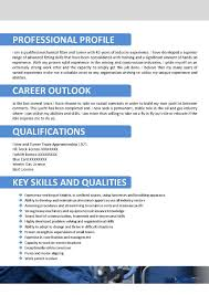 contractor resume profile professional objective for educational