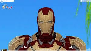 iron man mark 42 suit 1 0 tony stark in the sims 4 mods youtube