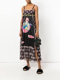 tsumori chisato tsumori chisato graphic print dress farfetch