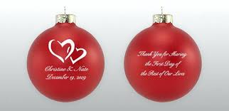 personalized christmas ornaments wedding personalized christmas ornaments for wedding favors our