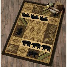 Moose Themed Home Decor by Lodge Bath Rugs Cabin And Lodge
