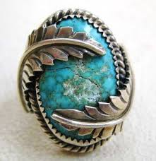 vintage turquoise bracelet images Vintage native american genuine turquoise silver jewelry hard jpg
