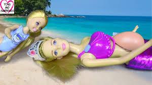 barbie chelsea helps pregnant mermaid give birth youtube