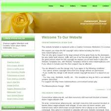 format html sed flower template free website templates in css html js format for