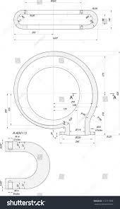 sketch guide vanes centrifugal pump vector stock vector 111717398