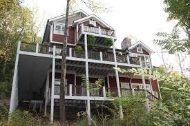 hillside home designs house plans steep hillside